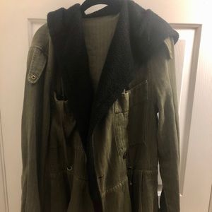 Free People Green Coat